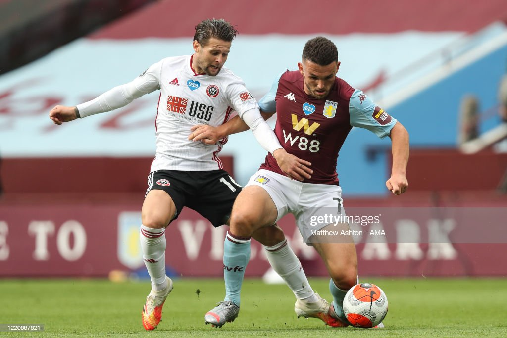 Aston Villa v Sheffield United - Premier League : News Photo