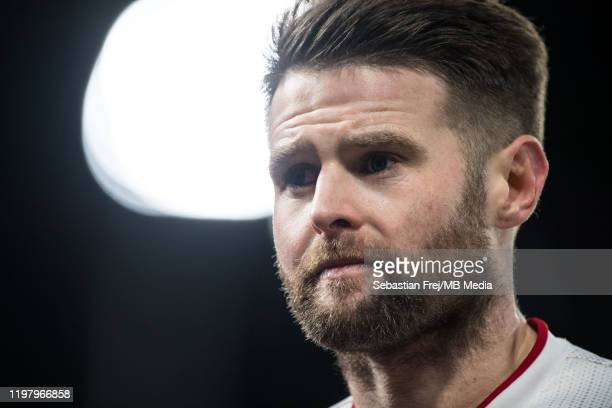 Oliver Norwood of Sheffield United looks on during the Premier League match between Crystal Palace and Sheffield United at Selhurst Park on February...