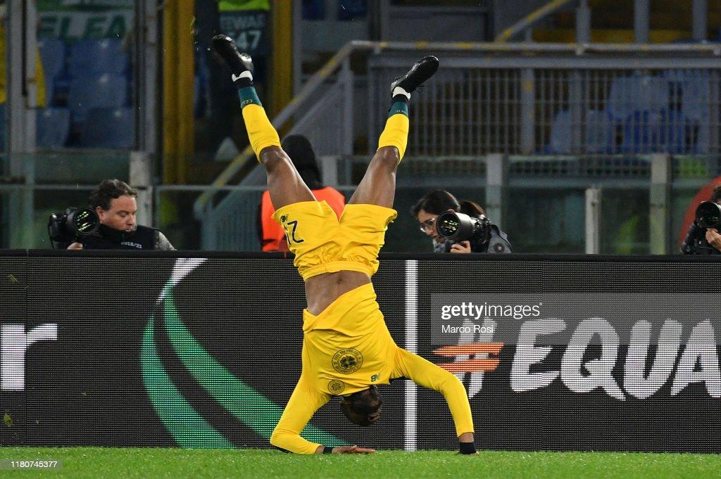 Lazio Roma v Celtic FC: Group E - UEFA Europa League : News Photo
