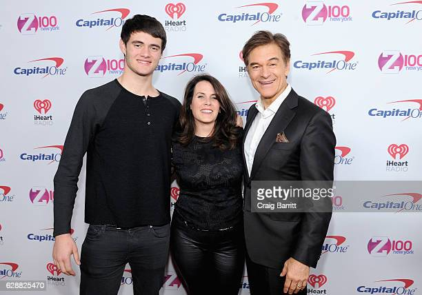 Oliver Oz Lisa Lemole and Dr Mehmet Oz attend Z100's Jingle Ball 2016 at Madison Square Garden on December 9 2016 in New York City