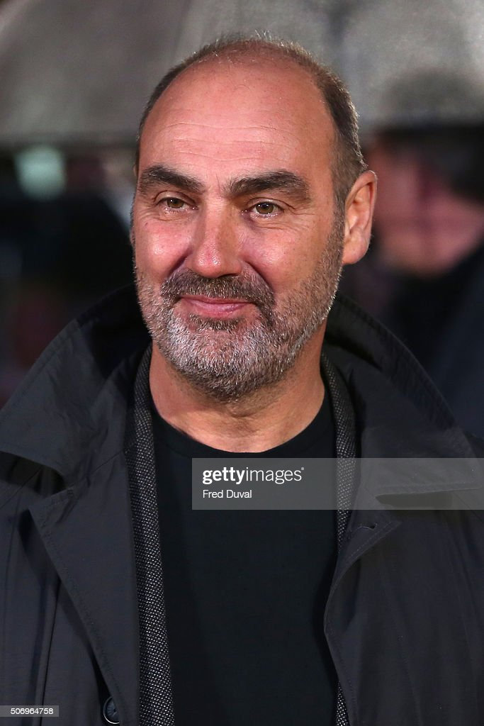 Oliver Parker attends 'Dad's Army' World Premiere at the Odeon Leicester Square on January 26, 2016 in London, United Kingdom.