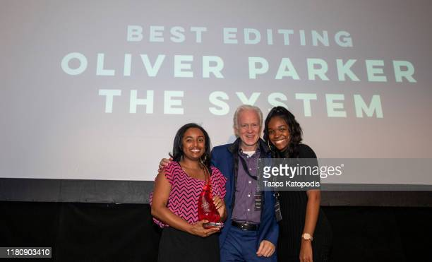 "Oliver Parker of ""The System"" wins Best Editing at the Catalyst Content Awards Gala on October 13 2019 in Duluth Minnesota"