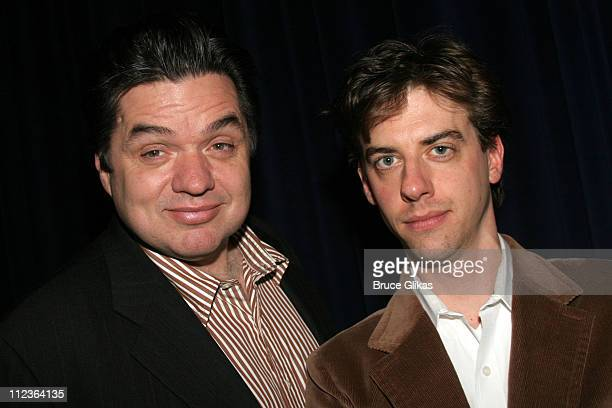 Oliver Platt and Christian Borle during MCC Theater 20th Anniversary Season Benefit Performance of 20 at The Circle in The Square Theater in New York...