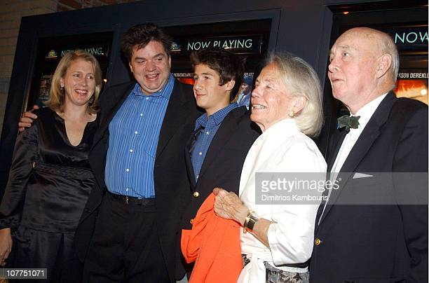 Oliver Platt and family during 'Pieces of April' New York City Premiere at Landmark's Sunshine Theater in New York City New York United States