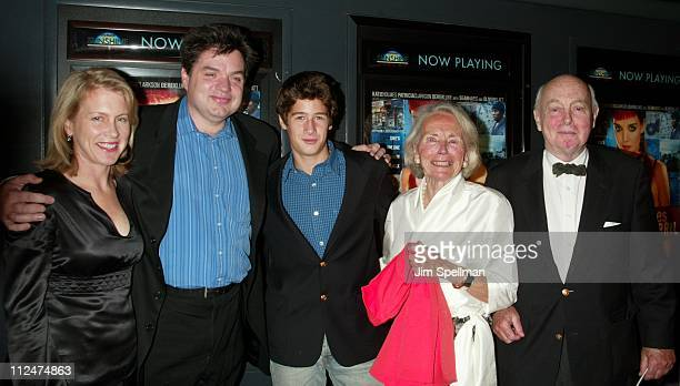 Oliver Platt and his family during 'Pieces of April' New York City Premiere at Landmark's Sunshine Theater in New York City New York United States