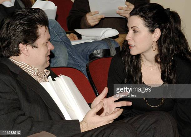 Oliver Platt and Julianna Margullies during MCC Benefit at the Circle in the Square Theatre in New York City December 5 2005 at Circle in the Square...