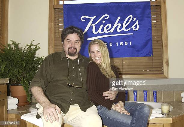 Oliver Platt and Laura Franklin during 2003 Park City The Motorola and Air Party Party at The Motorola House in Park City Utah United States