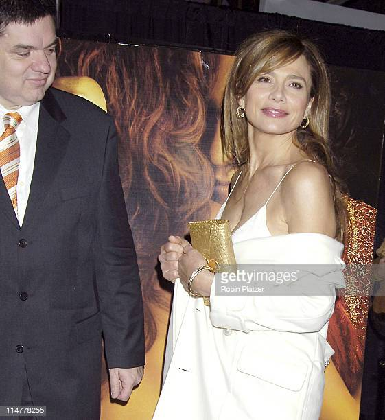 Oliver Platt and Lena Olin during Touchstone Pictures' Casanova New York City Premiere Inside Arrivals at The Loews Lincoln Square in New York City...