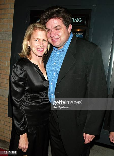 Oliver Platt and wife Camilla during 'Pieces of April' New York City Premiere at Landmark's Sunshine Theater in New York City New York United States