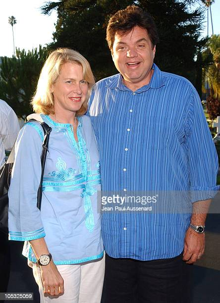 Oliver Platt and wife during Showtime TCA Summer Party at Hollywood Forever Cemetery in Hollywood California United States