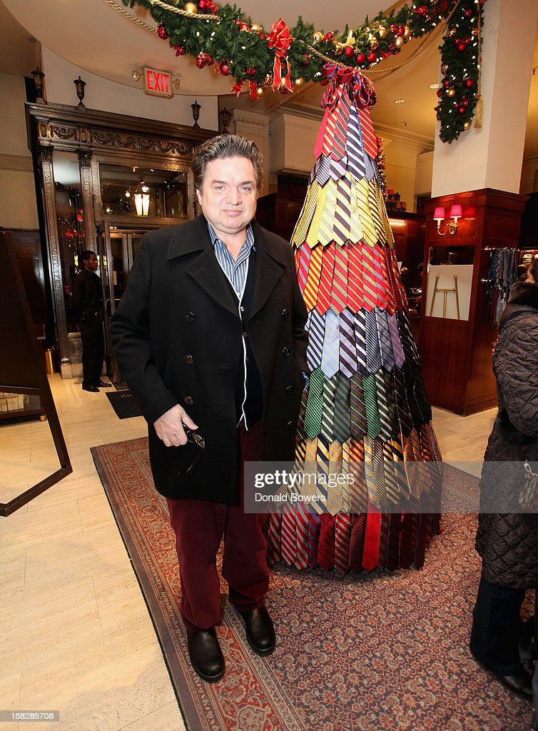 Oliver Platt attends The Brooks Brothers Hosts Seventh Annual Holiday Celebration To Benefit St Jude Children's Research Hospital on December 12, 2012 in New York City.