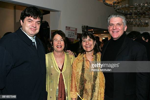 Oliver Platt Davia Nelson Nikki Silva and John Lyons attend The Coen Brothers Host a Book Party for the Kitchen Sisters and Their New Book 'Hidden...