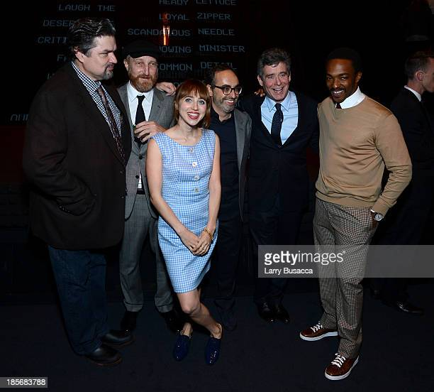Oliver Platt Jonathan Ames Zoe Kazan Gary Shteyngart Jay McInerney and Anthony Mackie attend PRADA Journal A Literary Contest In Collaboration With...