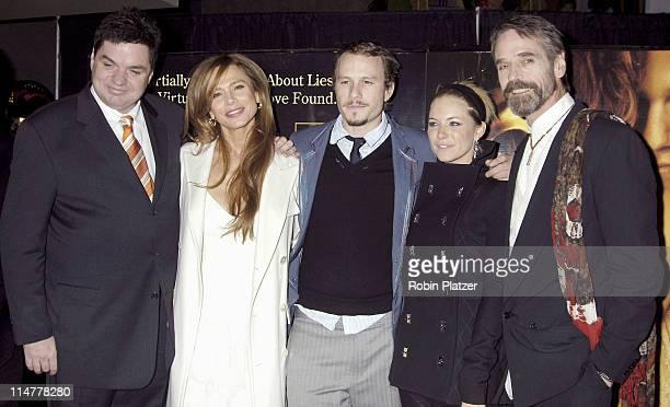 Oliver Platt Lena Olin Heath Ledger Sienna Miller and Jeremy Irons