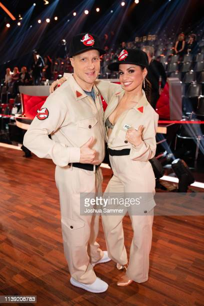Oliver Pocher and Christina Luft during the 2nd show of the 12th season of the television competition Let's Dance on March 29 2019 in Cologne Germany
