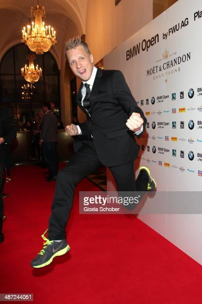 Oliver Pocher attends the BMW Open Players Night at Rilano No 6 on April 28 2014 in Munich Germany