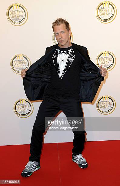 Oliver Pocher attends the charity gala in favor of 'McDonald's Kinderhilfe Stiftung' at Postpalast on November 8 2013 in Munich Germany