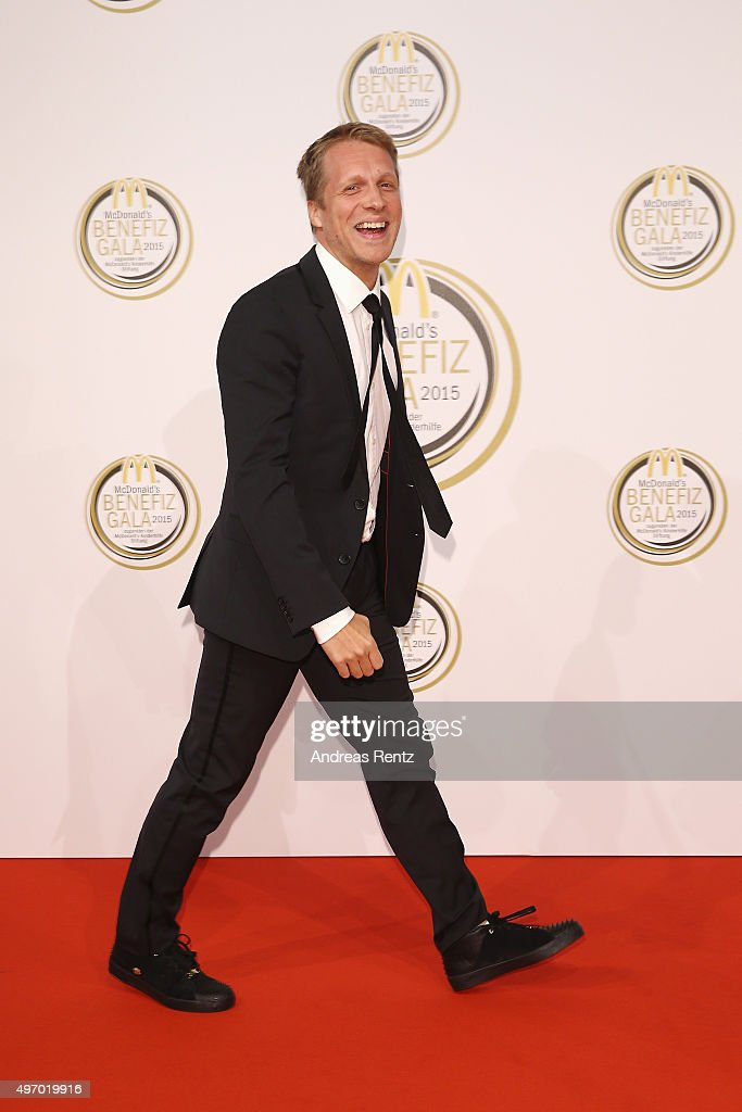 Oliver Pocher attends the McDonald's charity gala on November 13, 2015 in Cologne, Germany.