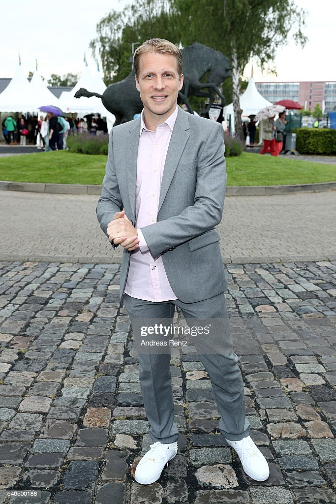 Oliver Pocher attends the media night of the CHIO 2016 on July 12, 2016 in Aachen, Germany.