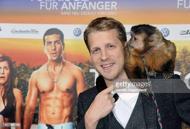 Oliver Pocher attends the Premiere Tuerkisch fuer Anfaenger at the CinemaxX on March 6 2012 in Munich Germany