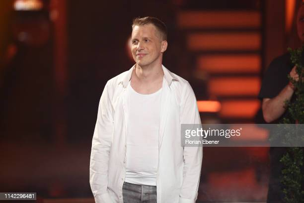Oliver Pocher performs on stage during the 4th show of the 12th season of the television competition Let's Dance on April 12 2019 in Cologne Germany