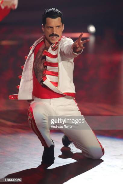 Oliver Pocher performs on stage during the 5th show of the 12th season of the television competition Let's Dance on April 26 2019 in Cologne Germany
