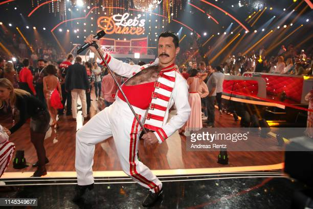 Oliver Pocher poses for a photograph during the 5th show of the 12th season of the television competition Let's Dance on April 26 2019 in Cologne...