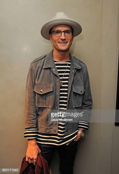 Oliver Proudlock attends 5 Years of Gazelli SkinCare on November 10 2016 in London England