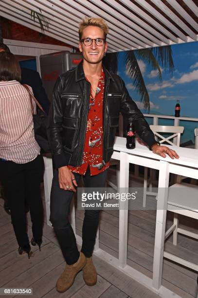 Oliver Proudlock attends The CocaCola Beach Club Summer Party at Kachette on May 10 2017 in London England