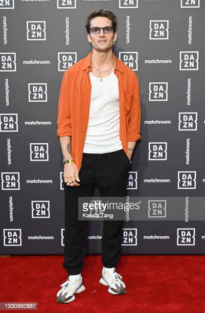 Oliver Proudlock attends the Dazn x Matchroom VIP Launch Event at Kings Cross on July 27, 2021 in London, England.