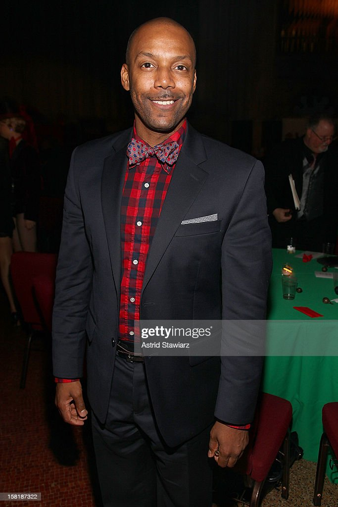 T. Oliver Reid attends the Duke Ellington Center For The Arts 'Ring Dem Bells!' Holiday Party at Landmark on the Park on December 10, 2012 in New York City.