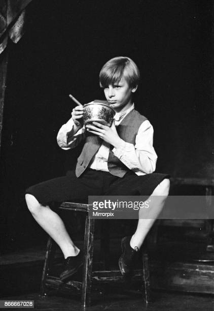 Oliver returns to the West End stage at the Piccadilly Theatre Paul Barclay pictured plays the lead role 25th April 1967