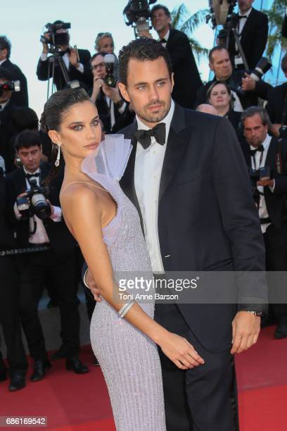 Oliver Ripley and Sara Sampaio attends the '120 Battements Par Minutes ' screening during the 70th annual Cannes Film Festival at Palais des...