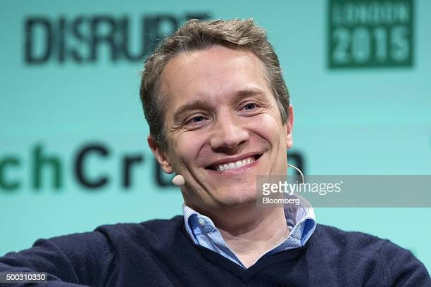 Oliver Samwer speaks during the TechCrunch Disrupt 2015 conference in London UK on Monday Dec 7 2015 TechCrunch Disrupt gathers the best and...