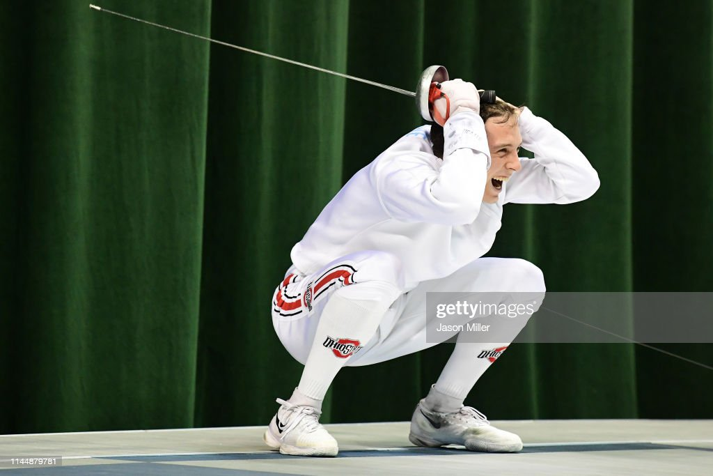 2019 NCAA Division I Men's Fencing Championship : News Photo
