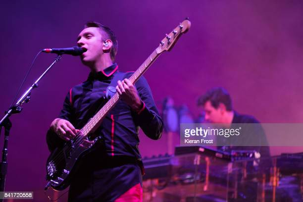 Oliver Sim and Jamie Smith of The XX perform at Electric Picnic Festival at Stradbally Hall Estate on September 1 2017 in Laois Ireland