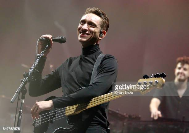Oliver Sim of The XX performs at the O2 Academy Brixton on March 8 2017 in London United Kingdom