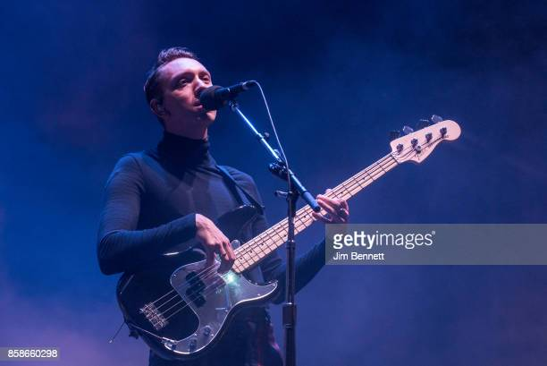 Oliver Sim of The XX performs live on stage during Austin City Limits Festival at Zilker Park on October 6 2017 in Austin Texas