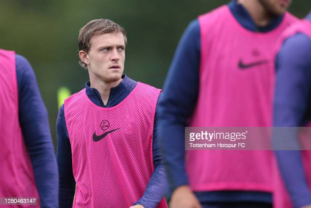 Oliver Skipp of Tottenham Hotspur during the Tottenham Hotspur training session at Tottenham Hotspur Training Centre on June 18, 2020 in Enfield,...