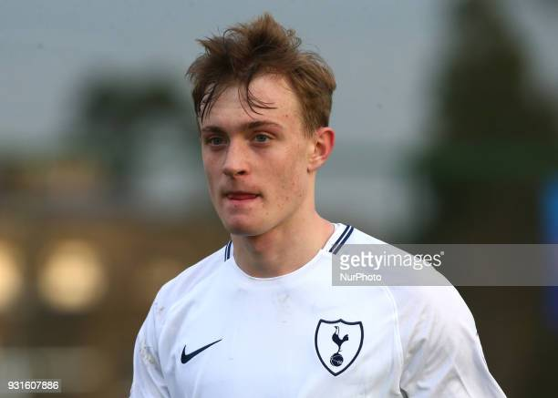 Oliver Skipp of Tottenham Hotspur U19s during UEFA Youth League Quarter Final match between Tottenham Hotspur U19s and FC Porto U19s at Tottenham...