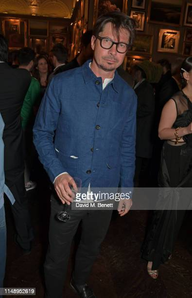 Oliver Spencer attends the British GQ LFWM dinner hosted by Dylan Jones and Liam Payne with HUGO during London Fashion Week Men's June 2019 at...