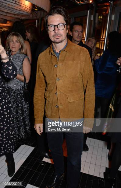 Oliver Spencer attends the GQ 30th anniversary party at SUSHISAMBA Covent Garden on October 29, 2018 in London, England.