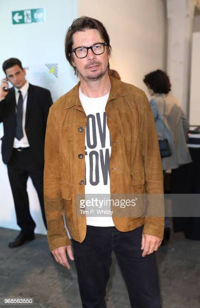 Oliver Spencer attends the Graduate Fashion Week Gala at The Truman Brewery on June 6 2018 in London England