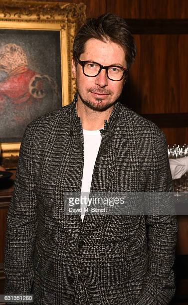 Oliver Spencer attends the London Fashion Week Men's closing night dinner hosted by Dylan Jones Jefferson Hack and the LFWM ambassadors at MNKY HSE...