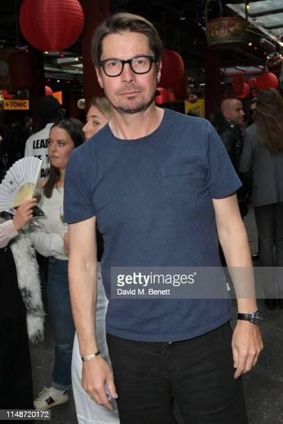 Oliver Spencer attends the Oliver Spencer Menswear SS20 show during London Fashion Week Men's June 2019 on June 9, 2019 in London, England.