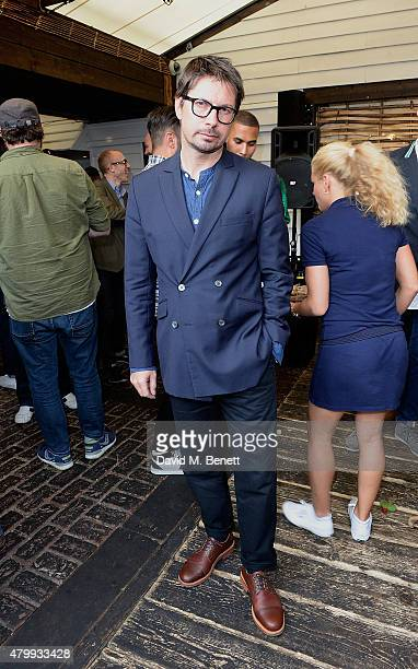 Oliver Spencer attends the Warner Summer Party in association with British GQ at Shoreditch House on July 8 2015 in London England