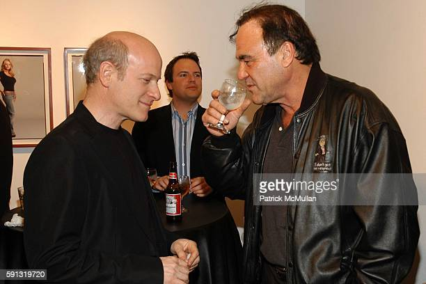 Oliver Stone and Timothy GreenfieldSanders attend Ten presents Timothy GreenfieldSanders XXX 30 PornStar Portraits West Coast Exhibit at...