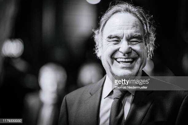 Oliver Stone arrives for the Award Night Ceremony of the 15th Zurich Film Festival at Opera House on October 05, 2019 in Zurich, Switzerland.