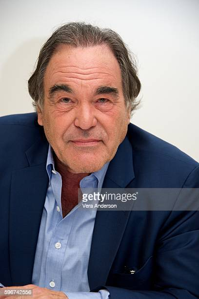 Oliver Stone at the 'Snowden' Press Conference at the Four Seasons Hotel on August 26 2016 in Beverly Hills California