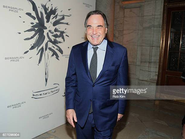 Oliver Stone attends the Berggruen Prize Gala Honoring Philosopher Charles Taylor at New York Public Library on December 1 2016 in New York City